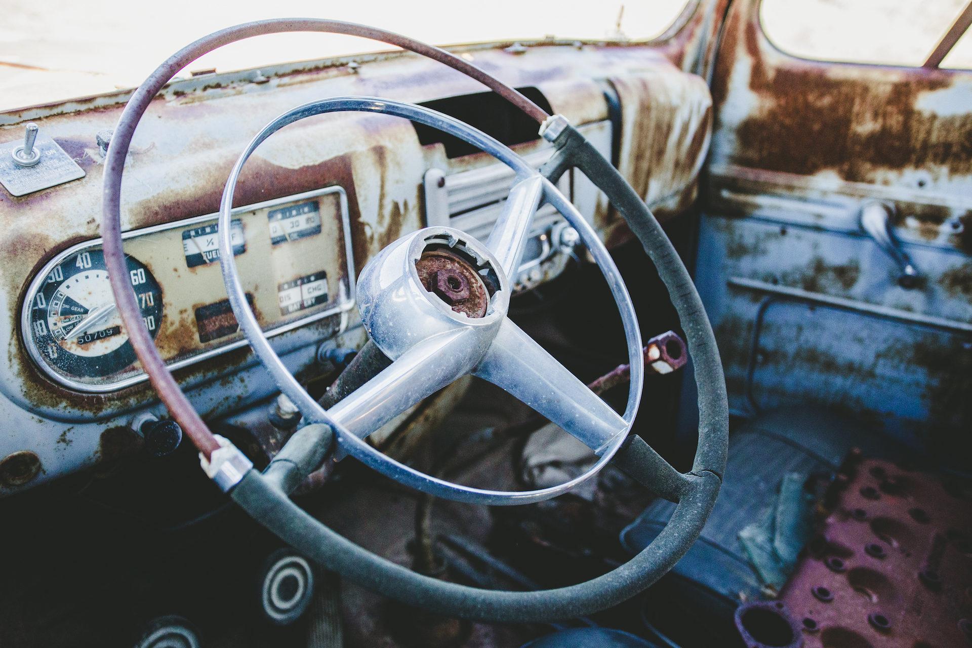 voiture, antiguo, vieux, Rouillé, Vintage - Fonds d'écran HD - Professor-falken.com