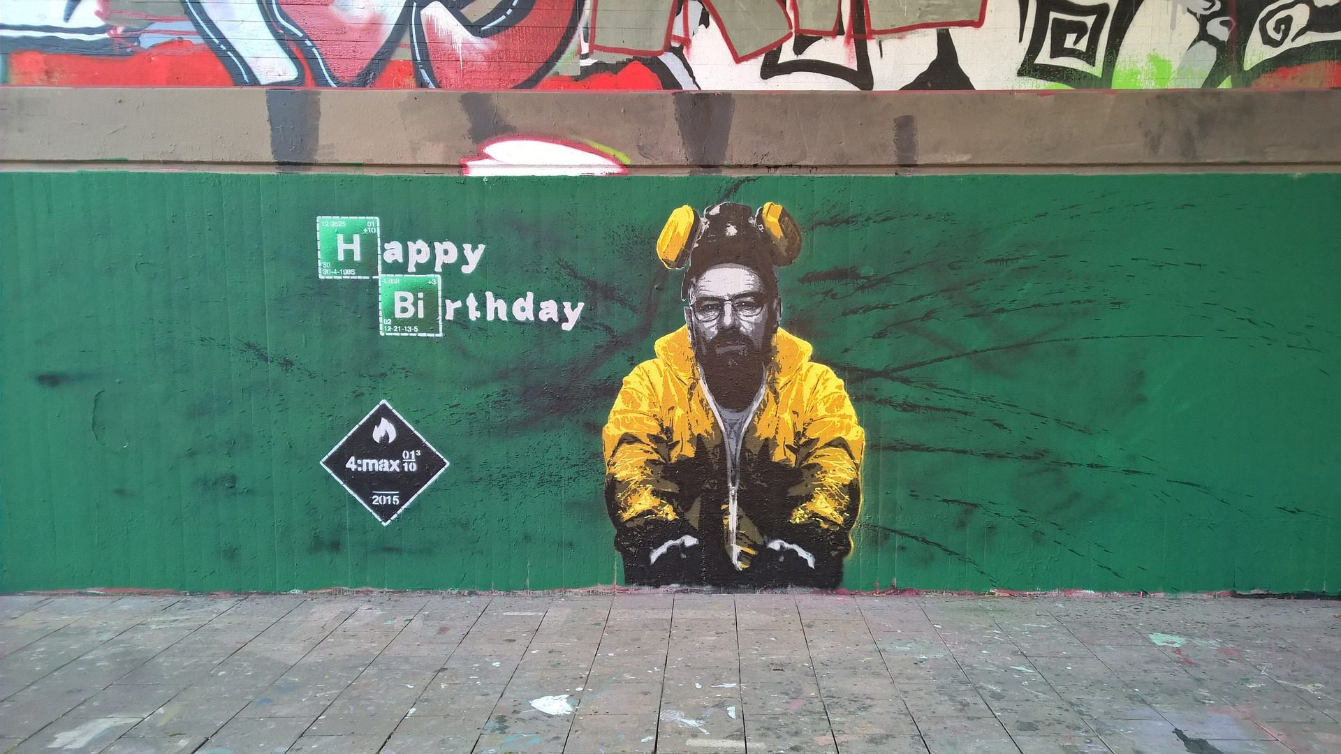 grafiti, breaking bad, serie, tv, pared - Fondos de Pantalla HD - professor-falken.com