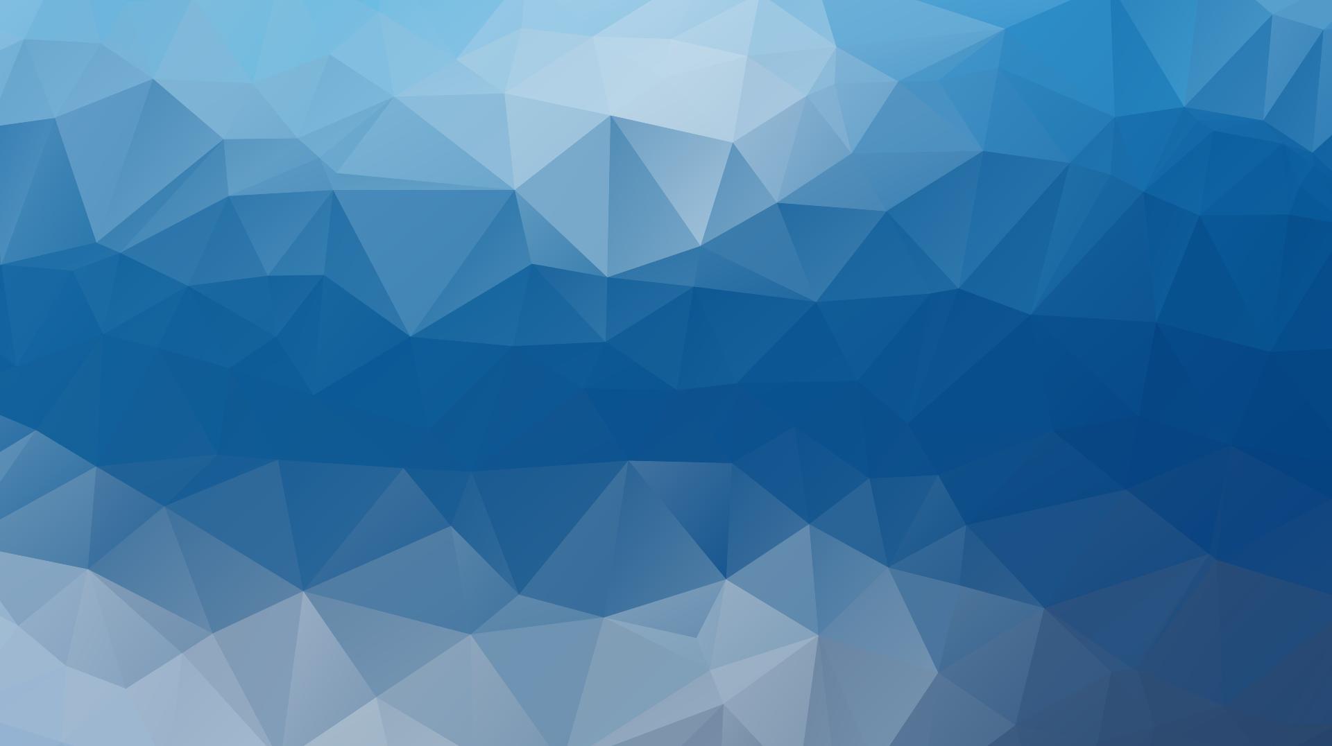 Unterseite Der Siebgewebe Dreiecke Polygone Blau