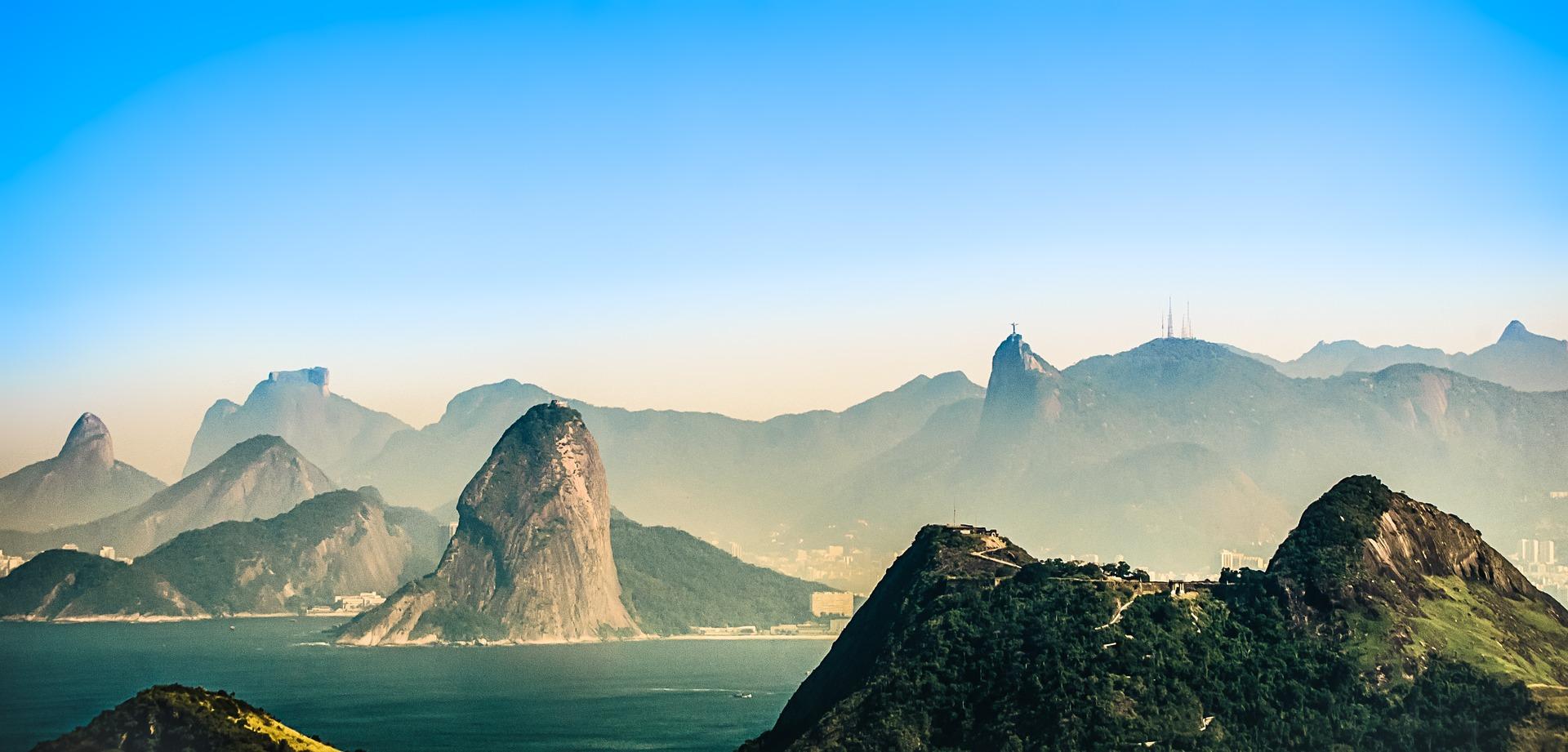 Рио-де-Жанейро отпуск, Бразилия, Христа-Искупителя, juegos olímpicos, Олимпийские игры - Обои HD - Профессор falken.com