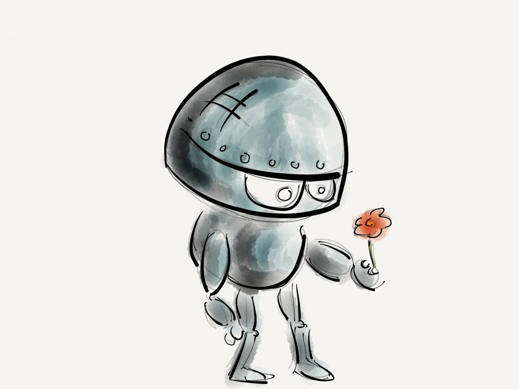 机器人, 花, 技术, 未来, 创新, 1608101750