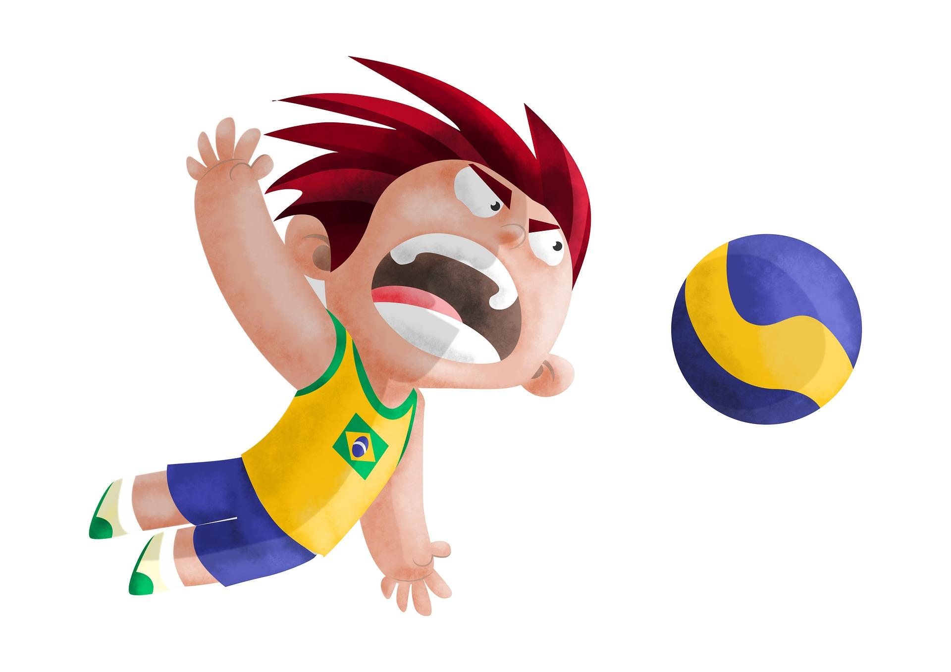 Βόλεϊ, Ο τύπος, Βραζιλία, Ολυμπιακά παιχνίδια, Ολυμπιακοί Αγώνες - Wallpapers HD - Professor-falken.com