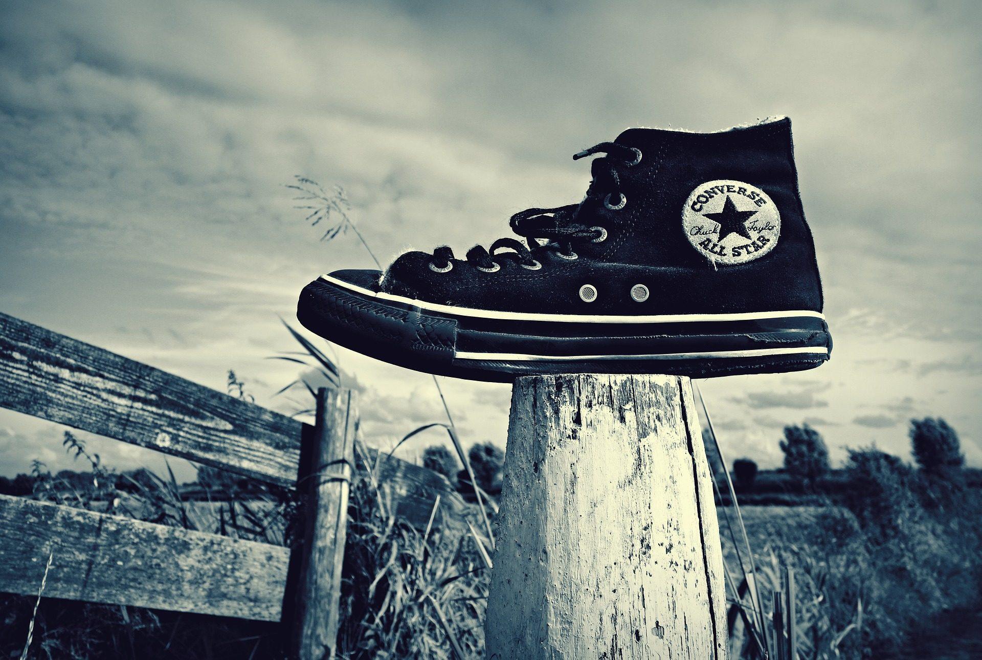 靴, 投稿, ソレダ, コンバース, 黒と白の - HD の壁紙 - 教授-falken.com
