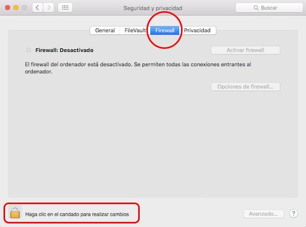 Cómo configurar el cortafuegos o firewall y proteger tu Mac - Image 2 - professor-falken.com