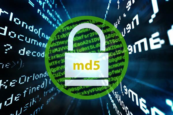 Κατακερματισμού MD5 γεννήτρια κώδικα