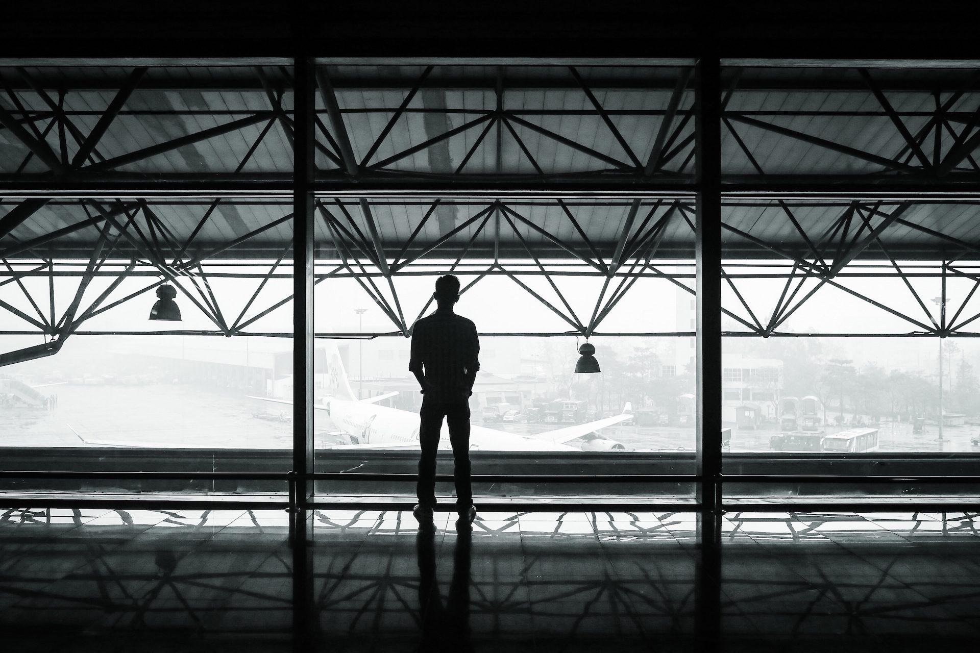 Aéroport le plus pratique, voyageur, Attends, Soledad, avion - Fonds d'écran HD - Professor-falken.com