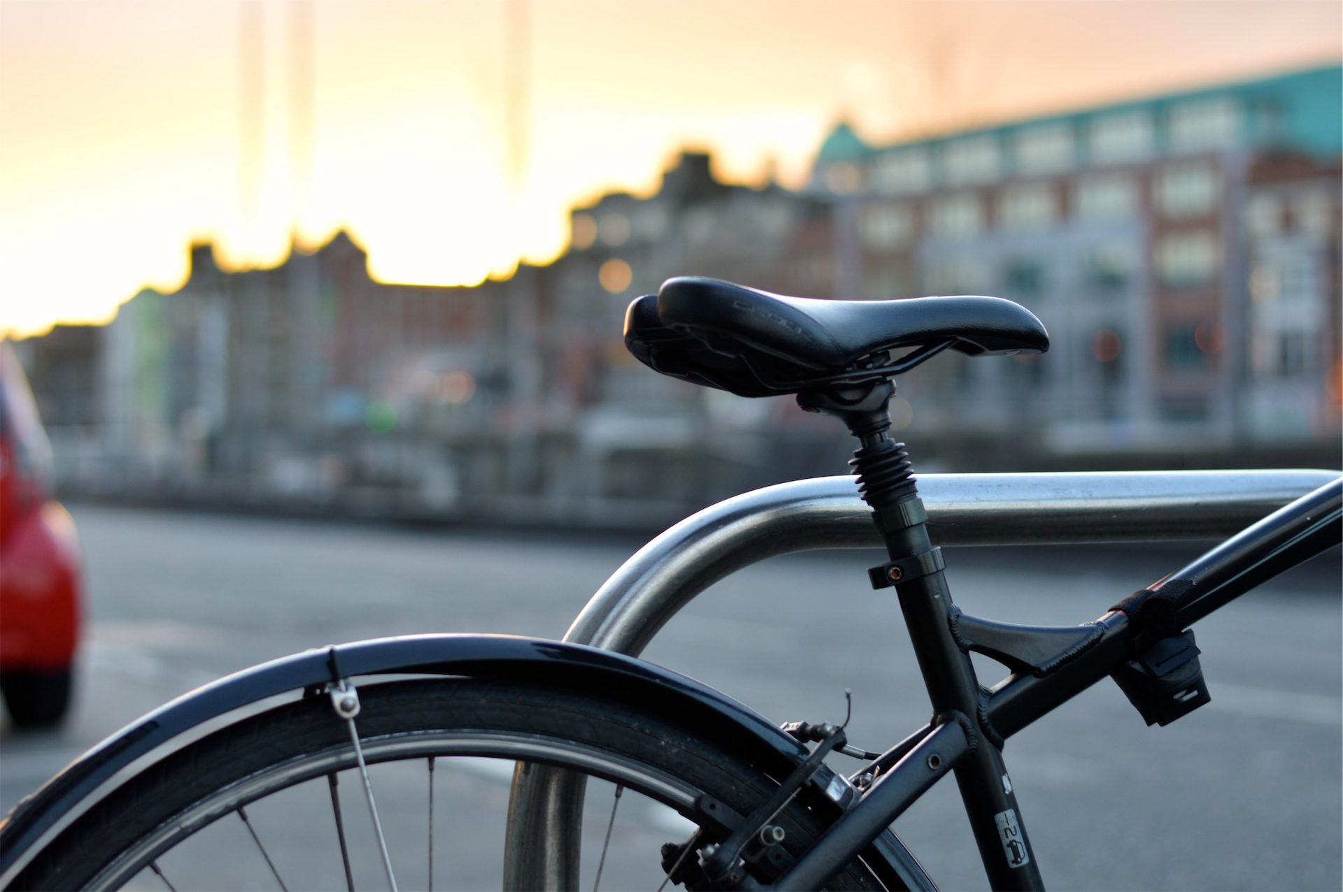 велосипед, сиденья, Седло, колесо, Город - Обои HD - Профессор falken.com