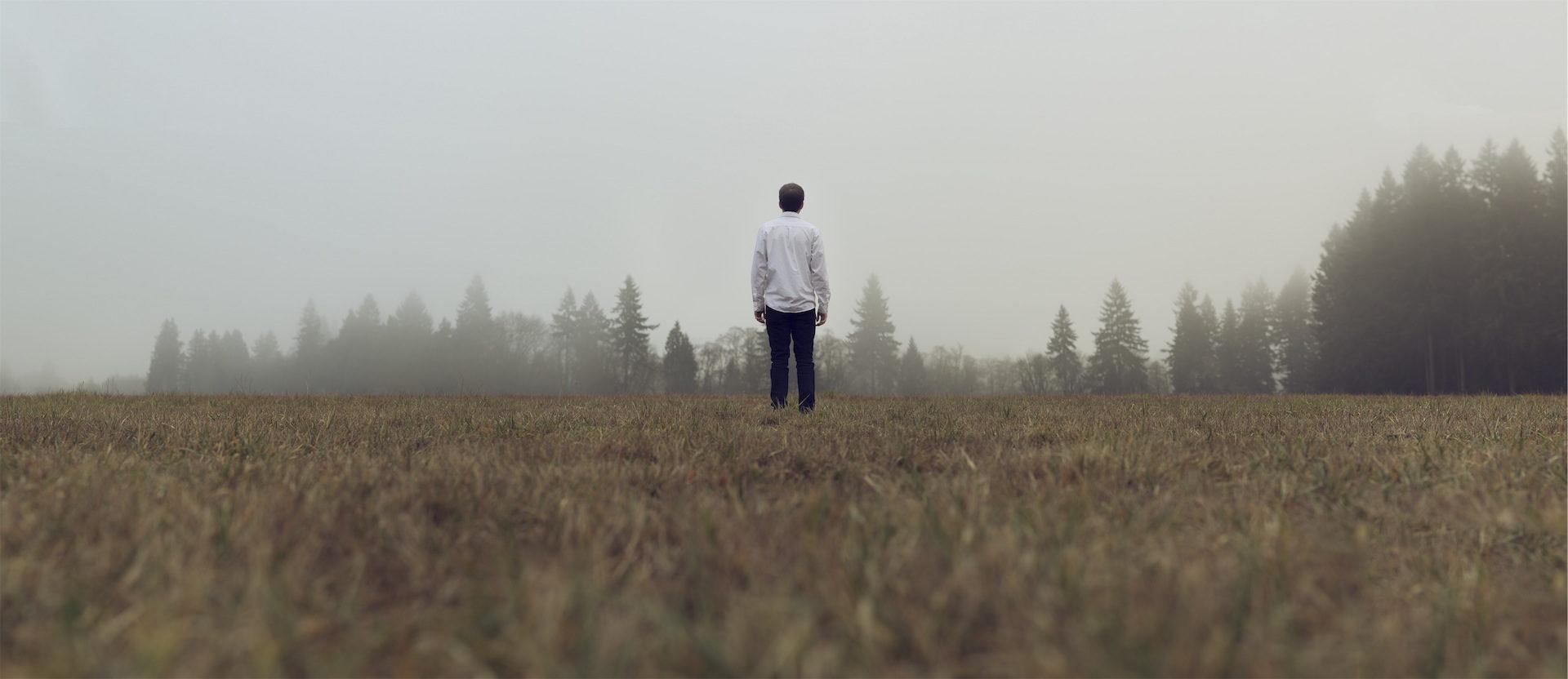 δάσος, Σπιανάδα, ο άνθρωπος, Soledad, ομίχλη - Wallpapers HD - Professor-falken.com