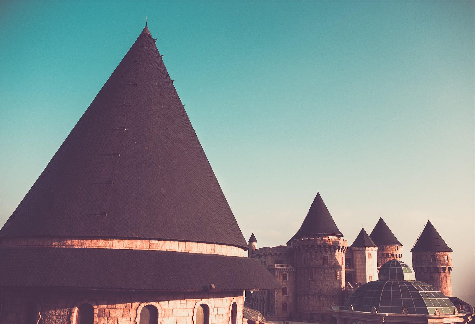 castillo, torres, torreón, fortaleza, cielo - Fondos de Pantalla HD - professor-falken.com