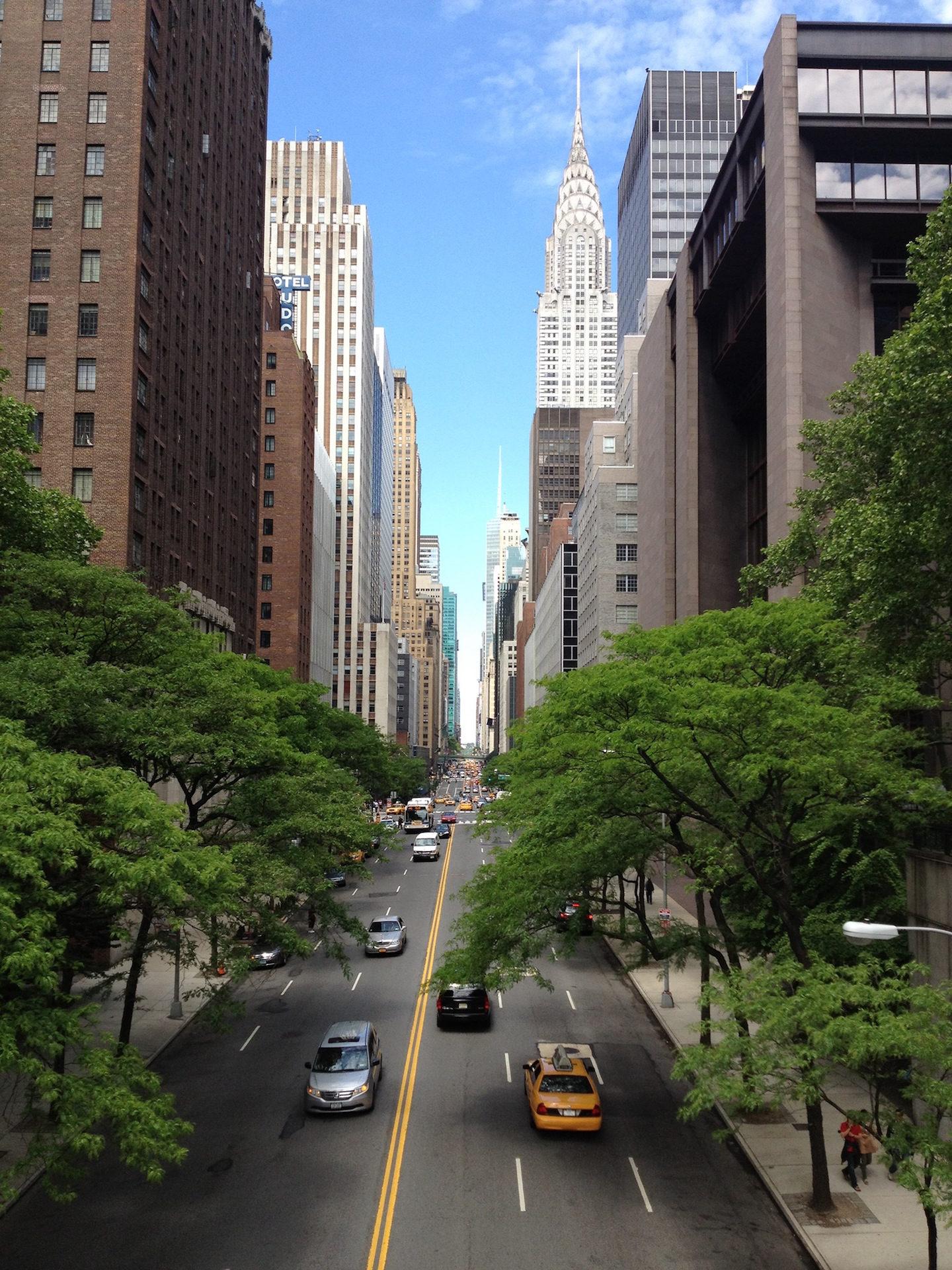 ciudad, calle, nueva york, manzana, rascacielos - Fondos de Pantalla HD - professor-falken.com