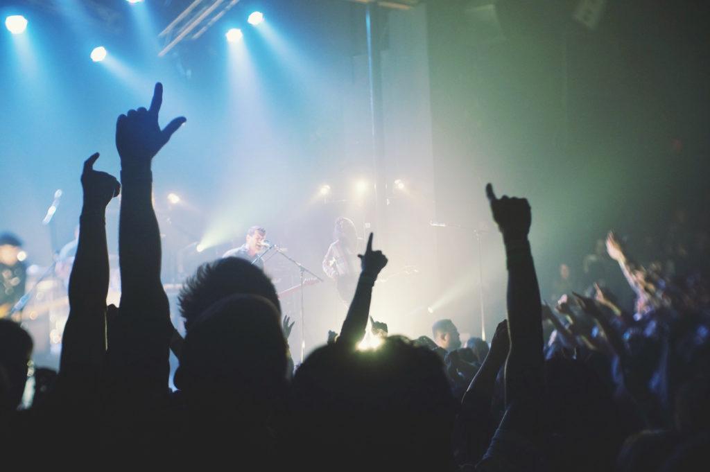 concierto, diversión, banda, cantante, bailar, 1609302004