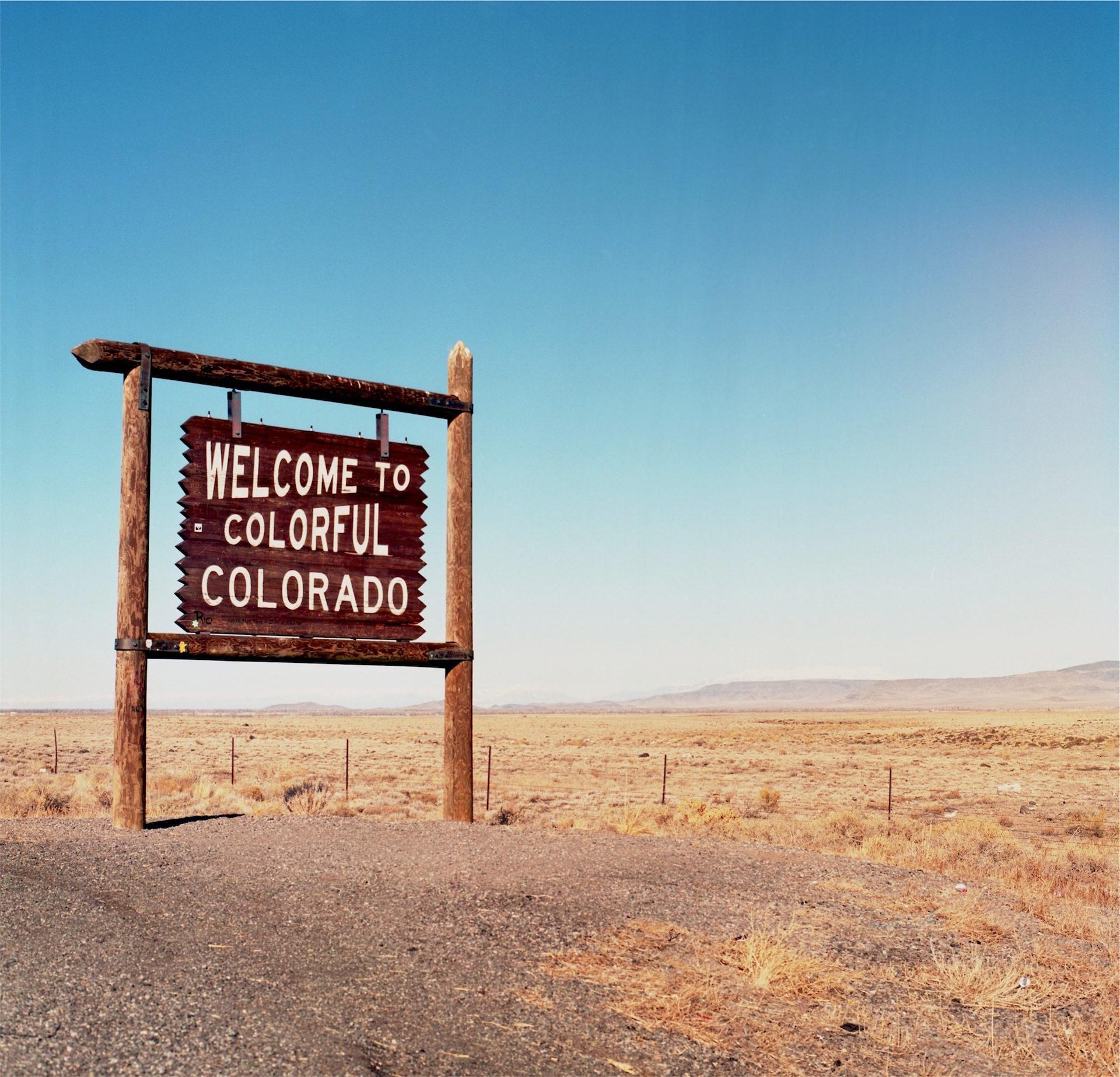 desierto, colorado, cartel, américa, cielo - Fondos de Pantalla HD - professor-falken.com