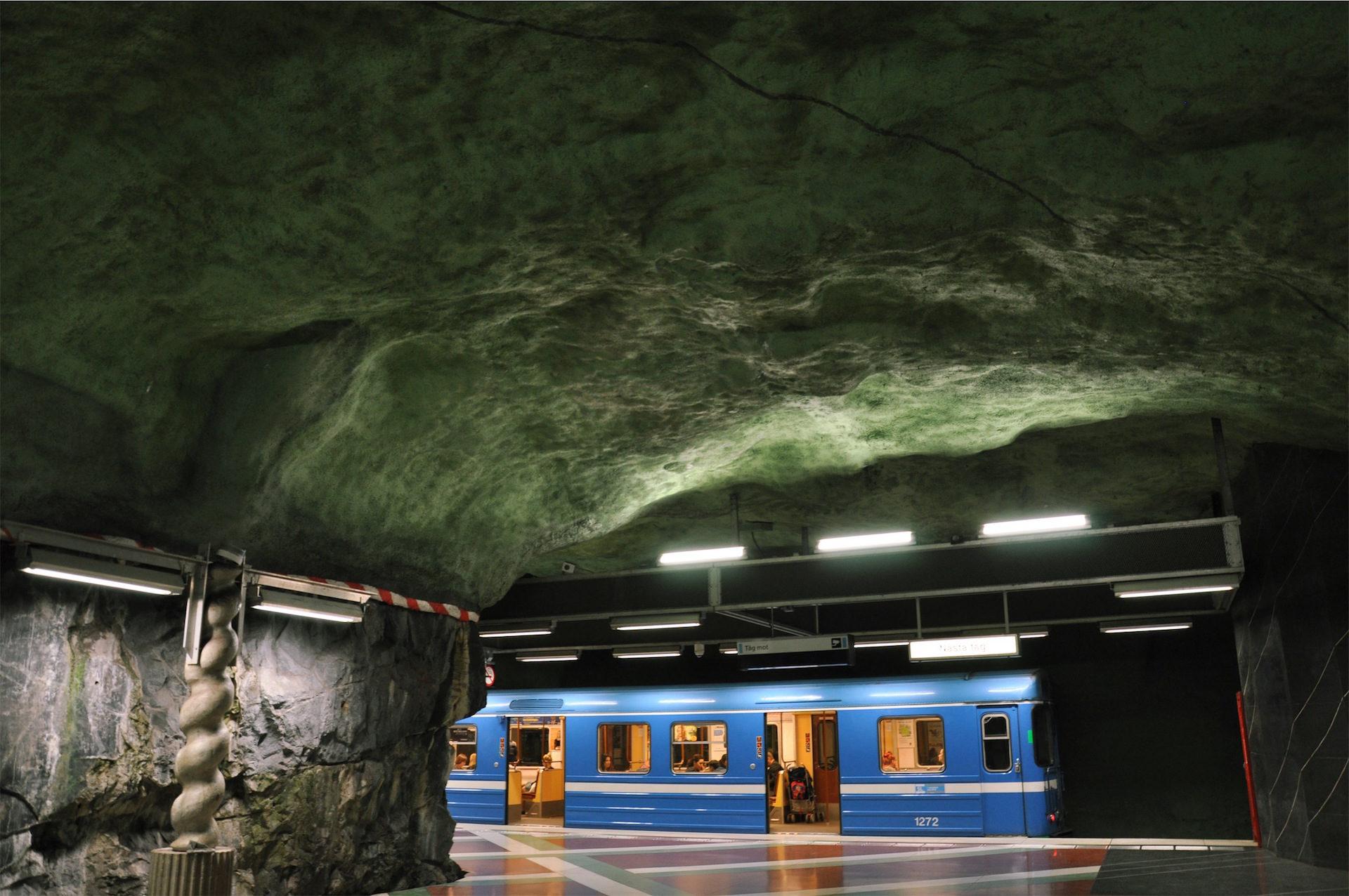 Estação, Metrô, túnel, Montanha, Pedra - Papéis de parede HD - Professor-falken.com