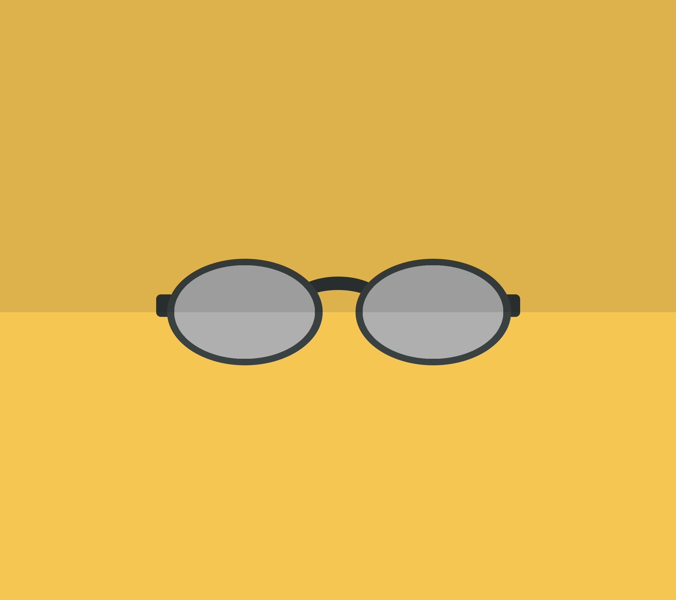 occhiali da sole, Sole, cristalli, Giallo, occhiali da vista - Sfondi HD - Professor-falken.com