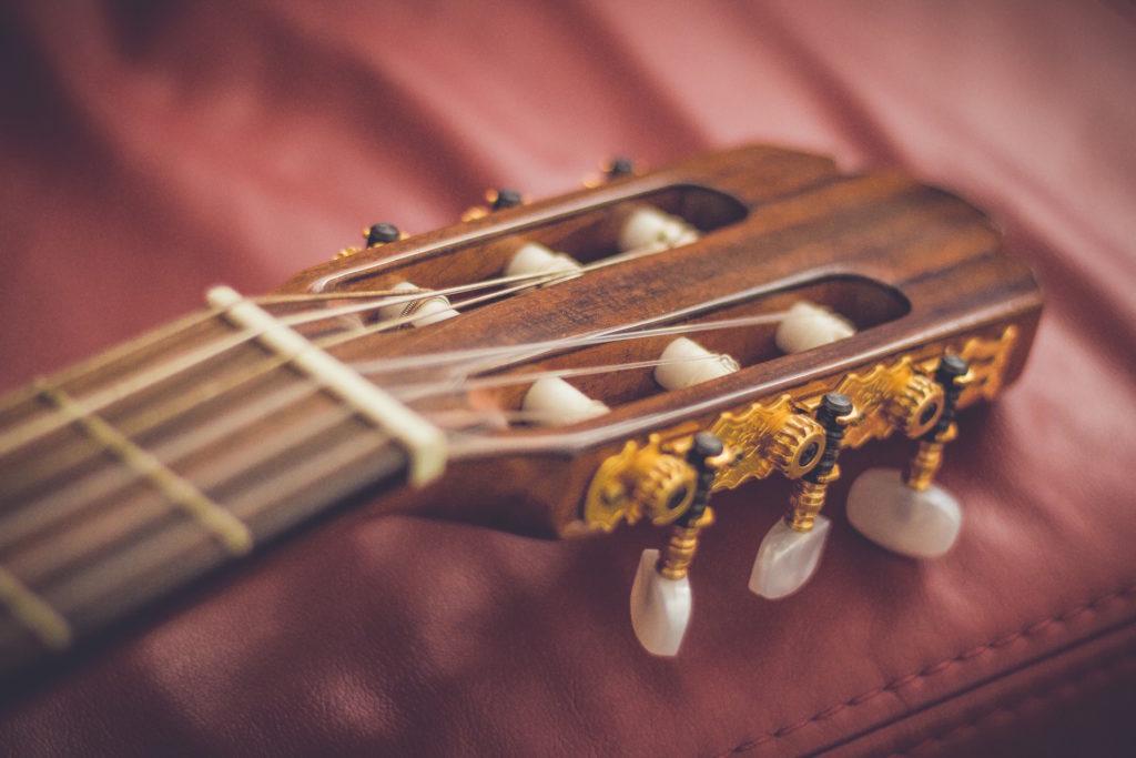 guitarra, mástil, cuerdas, afinación, mecanismo, 1609220830