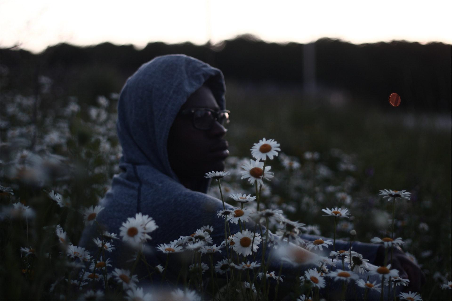 homme, fleurs, domaine, Hotte, réfléchie - Fonds d'écran HD - Professor-falken.com