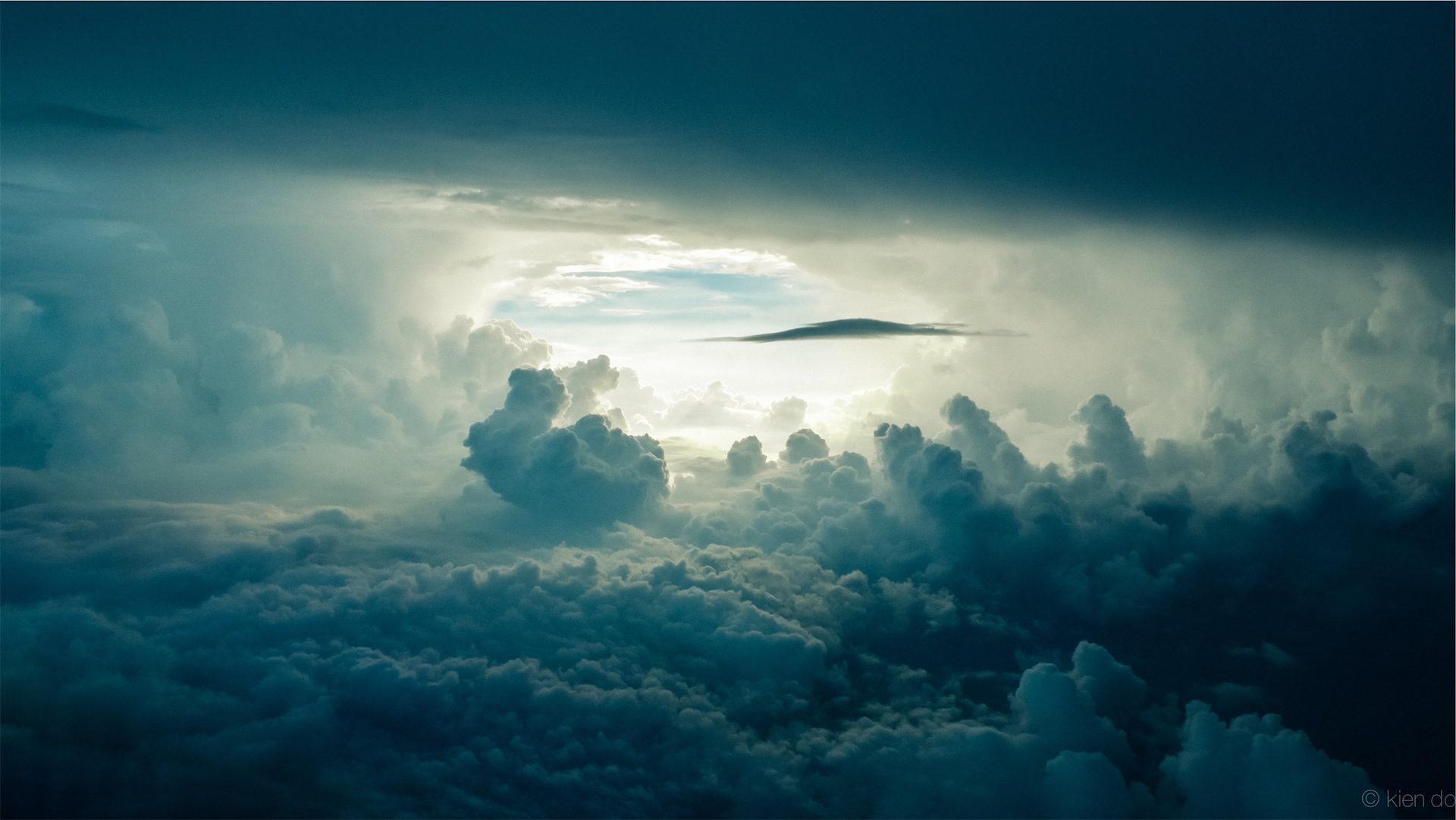 nuvens, Céu, Formas, É claro, luz - Papéis de parede HD - Professor-falken.com