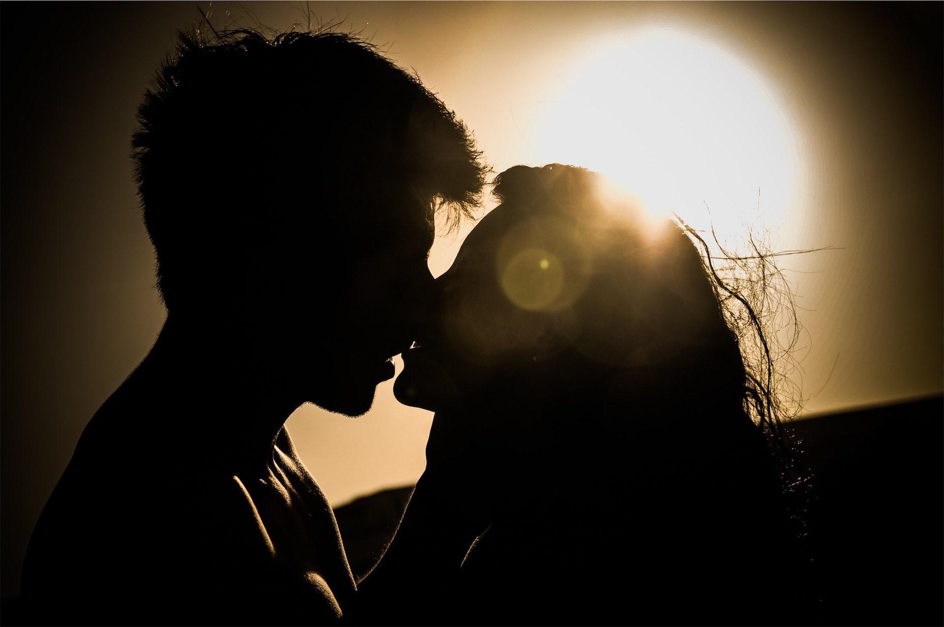 couple, ombres, amour, passion, Sun - Fonds d'écran HD - Professor-falken.com