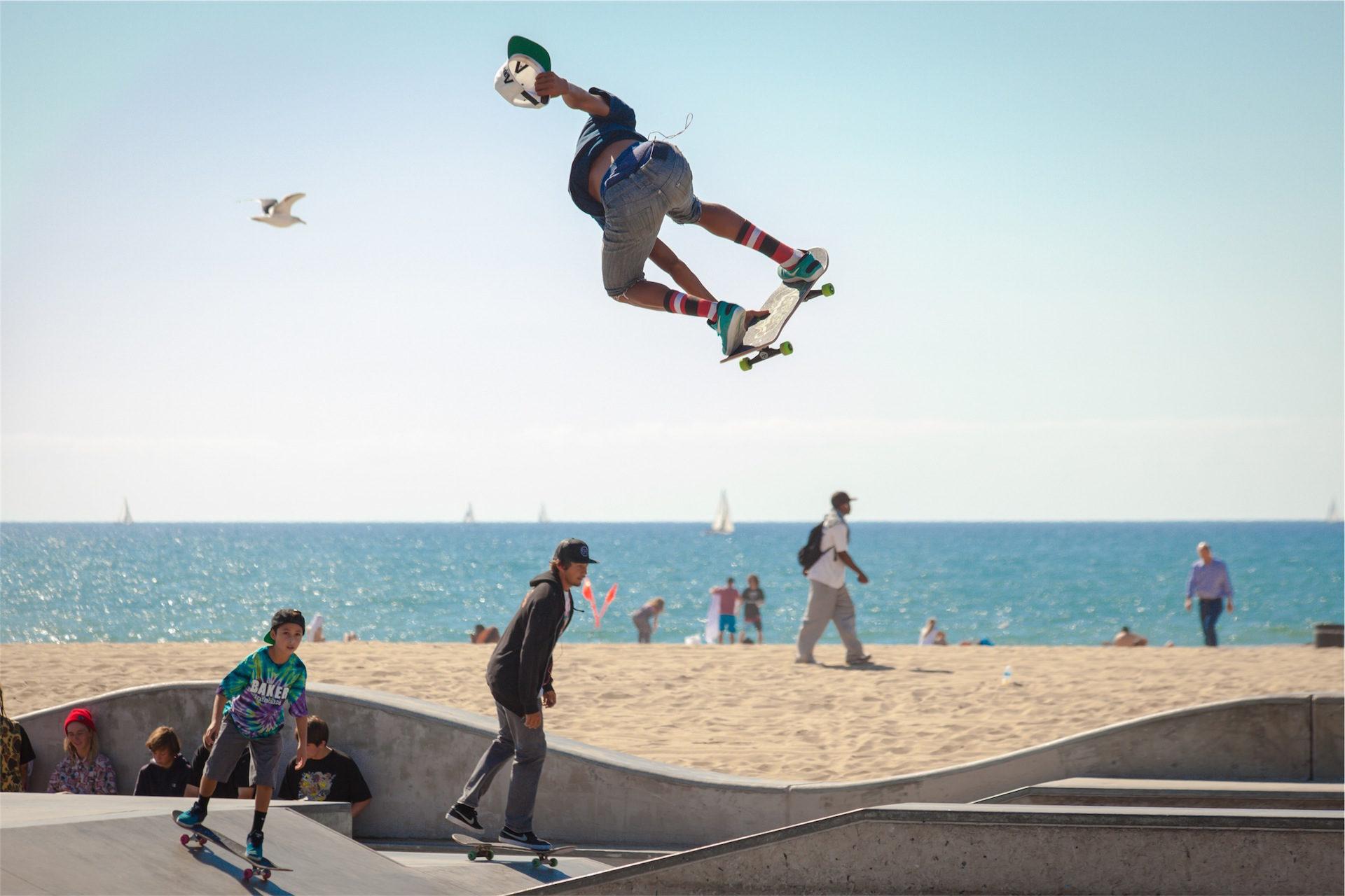 patinar, スケート, ビーチ, 太陽, 楽しい - HD の壁紙 - 教授-falken.com