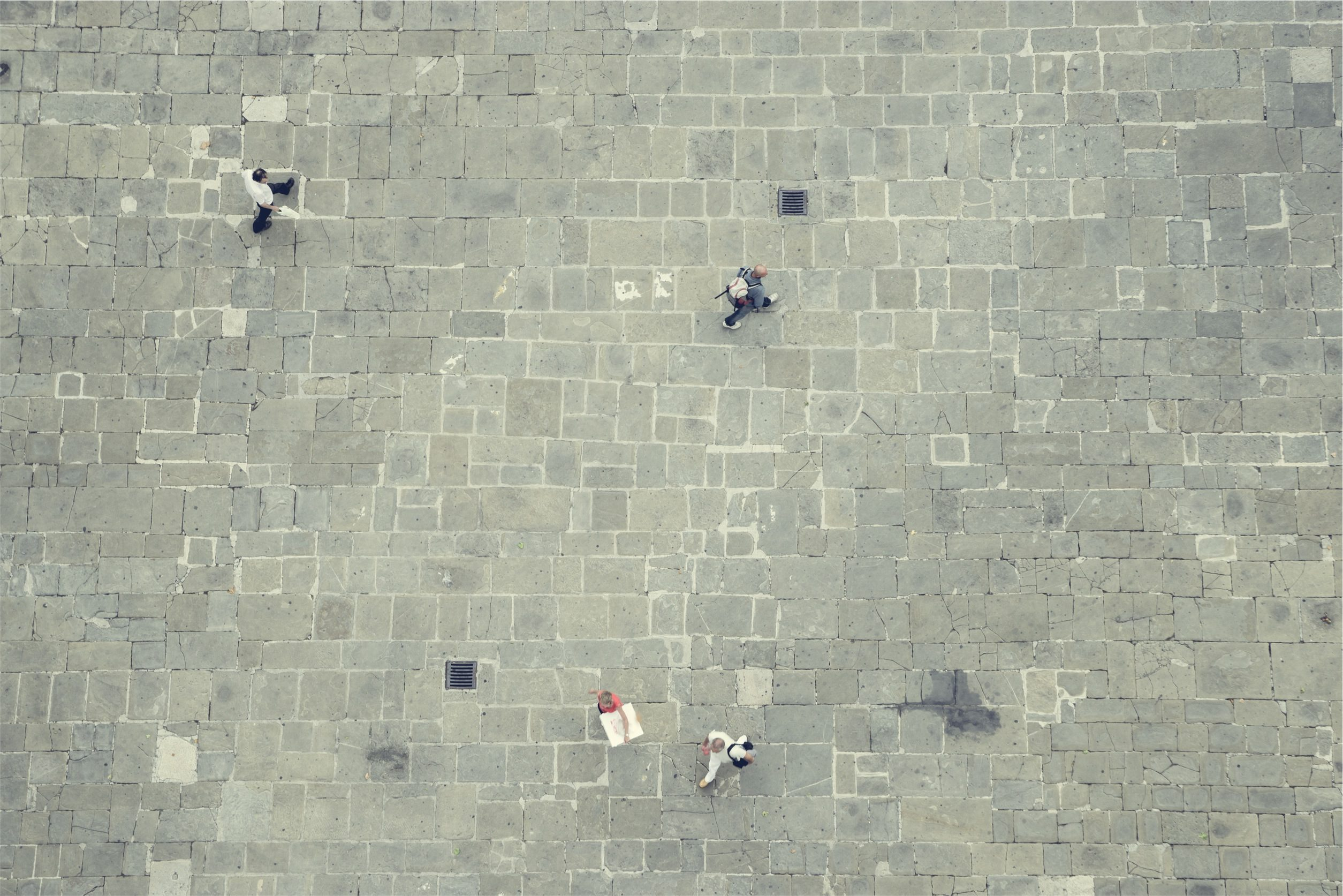 人, 通り, タイル, 空気, 生活 - HD の壁紙 - 教授-falken.com