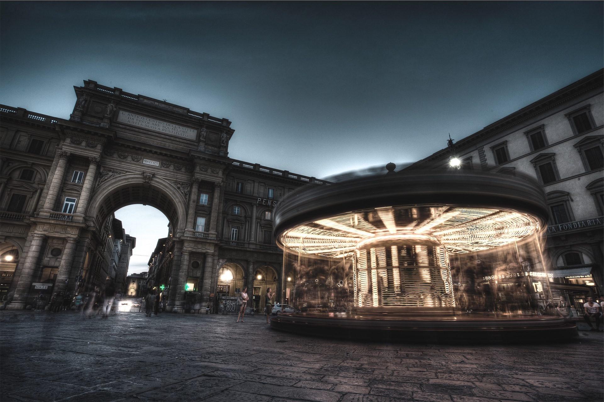 Plaza, αξιοθέατο, φως, κίνηση, κτίρια - Wallpapers HD - Professor-falken.com