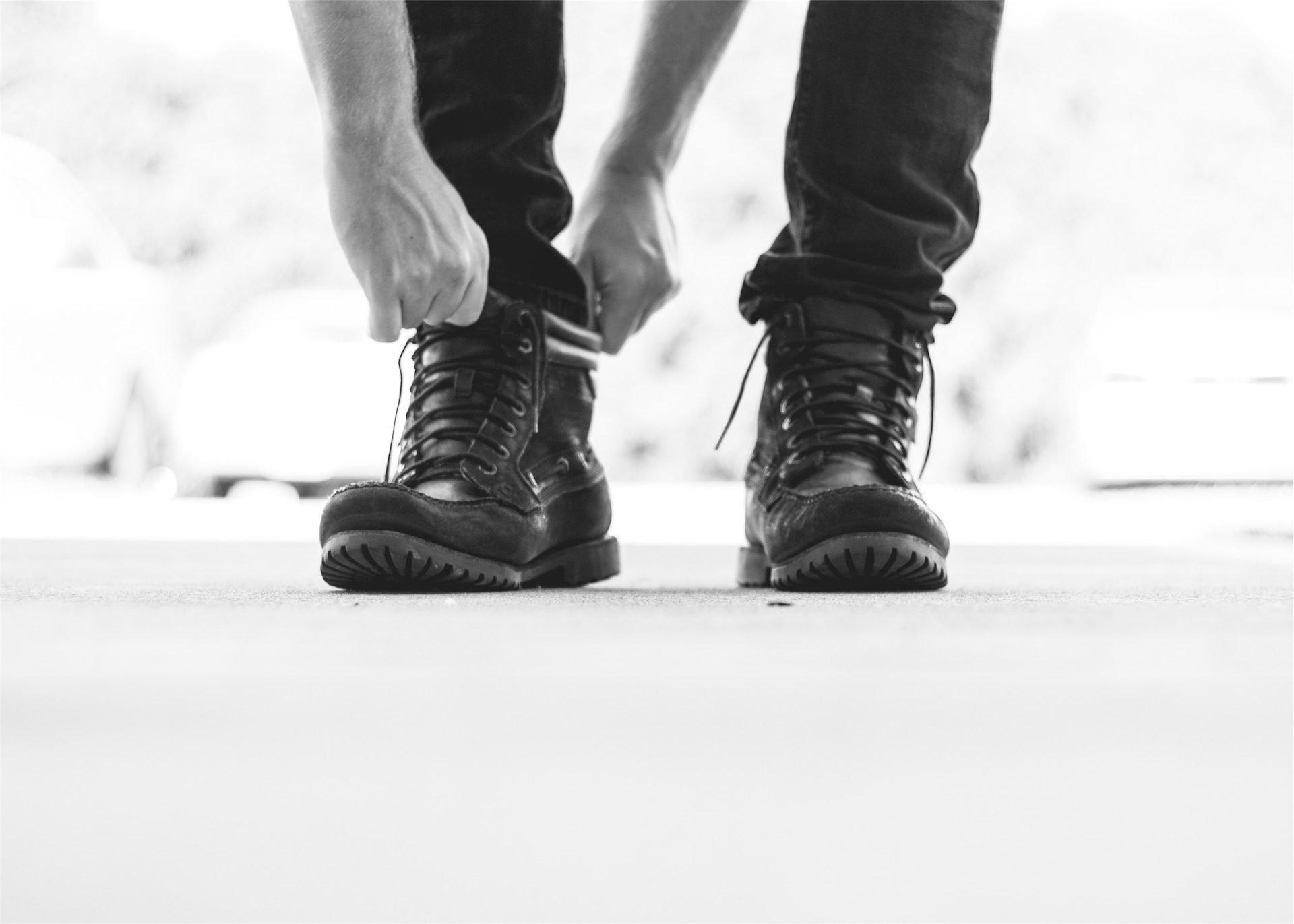 scarpe, uomo, stivali, Abbigliamento, in bianco e nero - Sfondi HD - Professor-falken.com