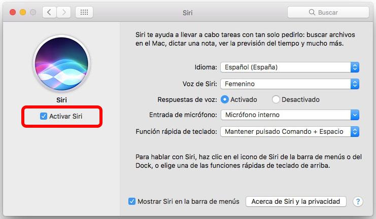 Como habilitar ou desabilitar no seu Mac com MacOS viu Siri - Imagem 2 - Professor-falken.com