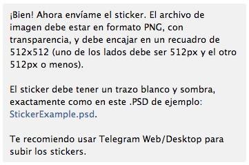 Cómo crear tus propios dibujos o stickers para Telegram Messenger - Image 3 - professor-falken.com