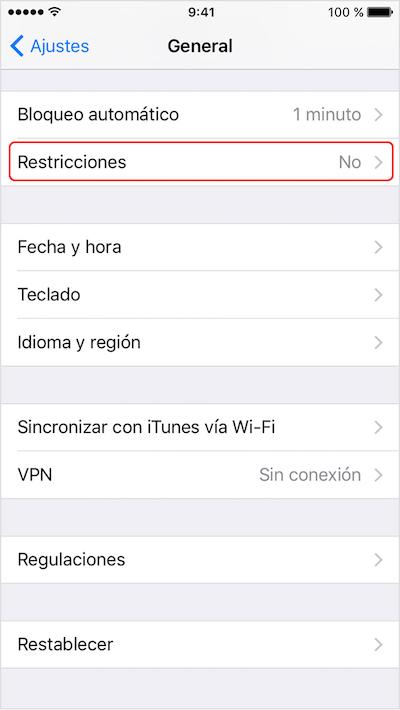Como habilitar ou desabilitar o acesso à câmera, na tela de bloqueio em seu iPhone com o iOS 10 Imagem 2 - Professor-falken.com
