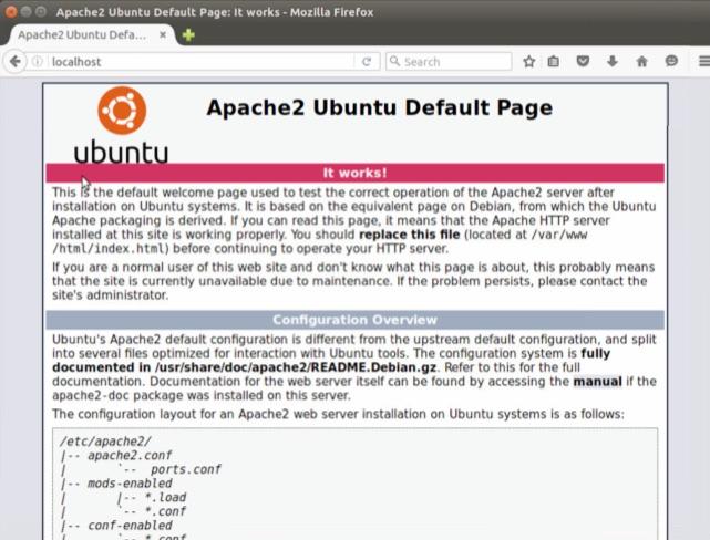 Cómo instalar el servidor web Apache 2 en Ubuntu (Linux) - Image 1 - professor-falken.com