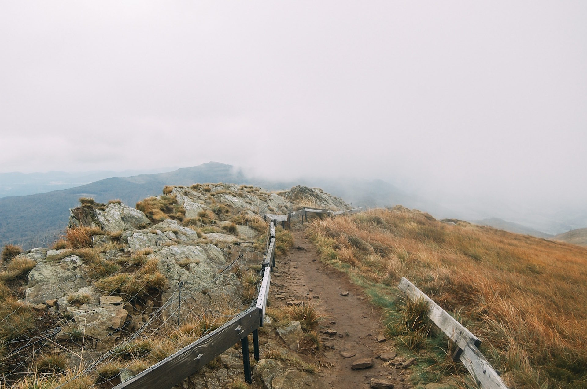道路, フィールド, 山, 霧, 失われました。 - HD の壁紙 - 教授-falken.com