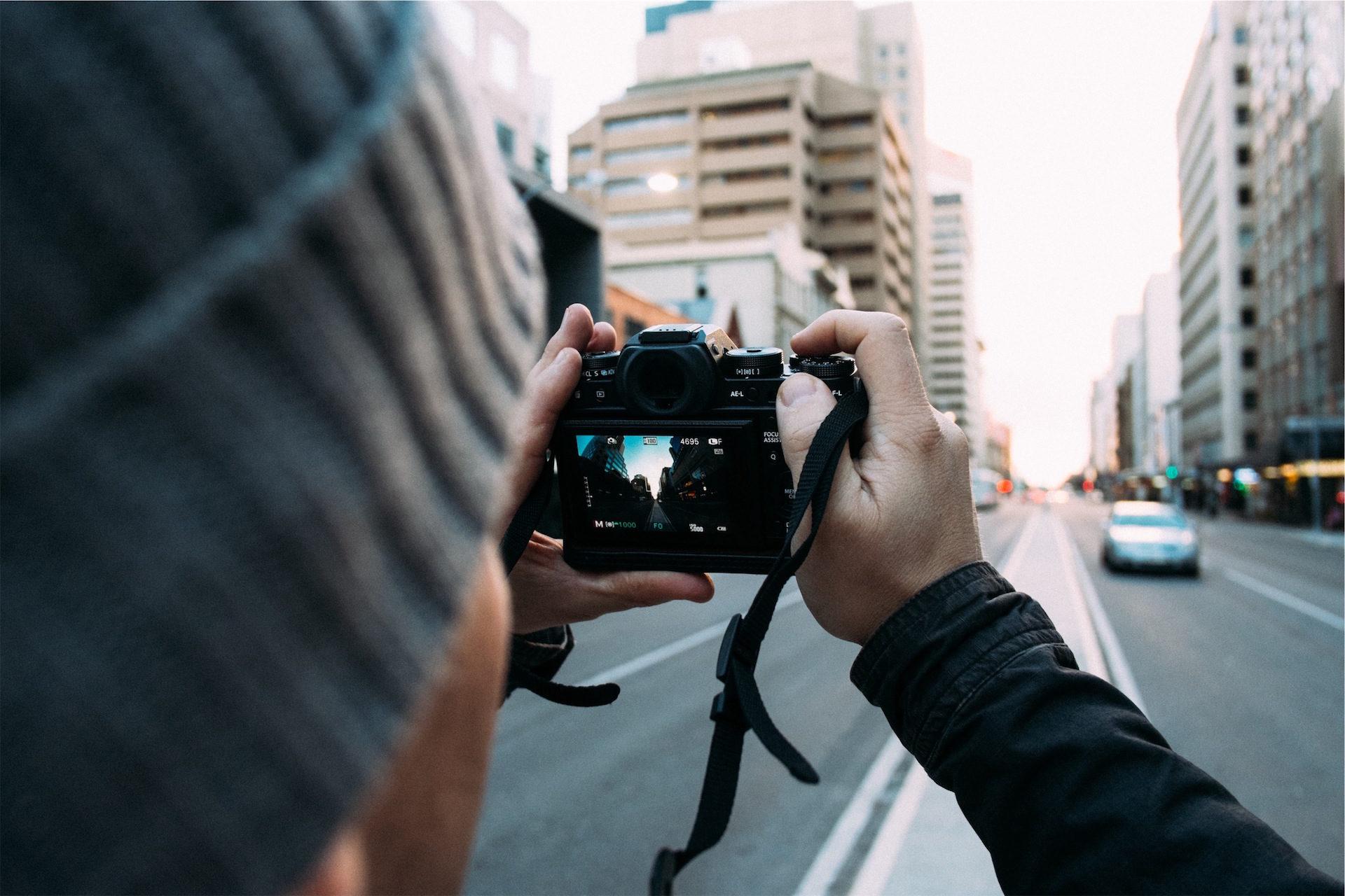 城市, 男子, 相机, 摄影, 旅游 - 高清壁纸 - 教授-falken.com