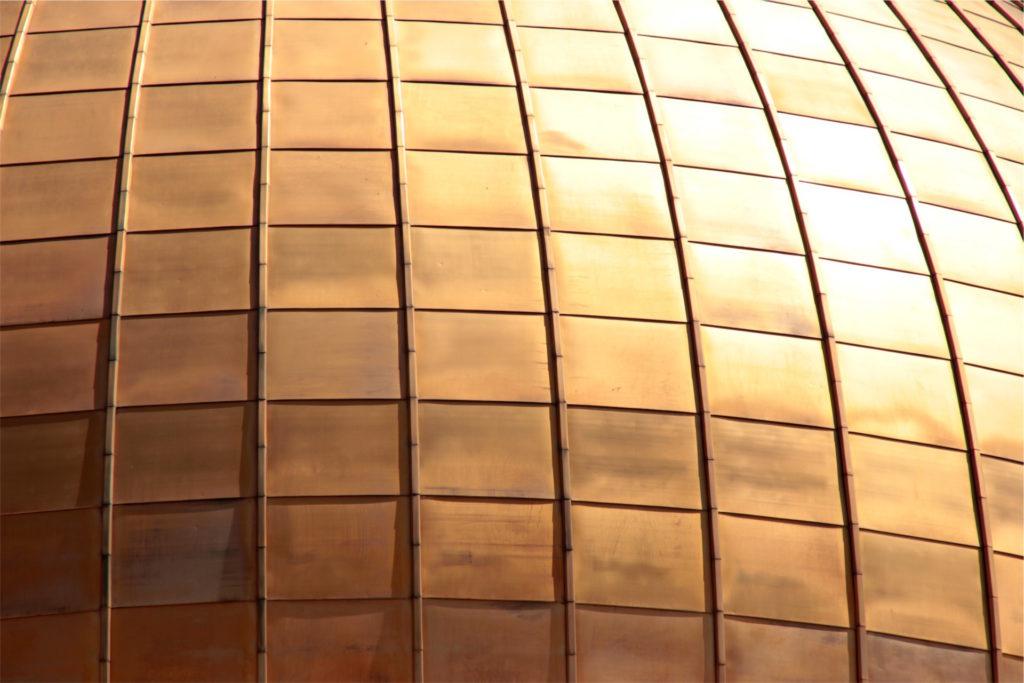 edificio, dorado, piezas, cuadrados, reflejo, 1610260847