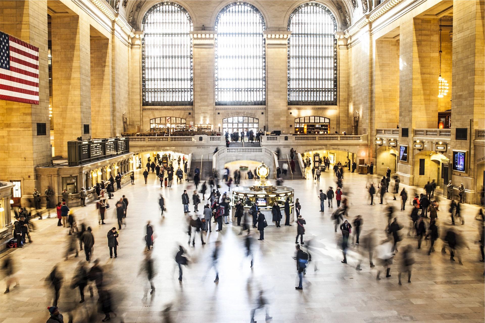 Estação, Metrô, pessoas, viajantes, Estados Unidos - Papéis de parede HD - Professor-falken.com