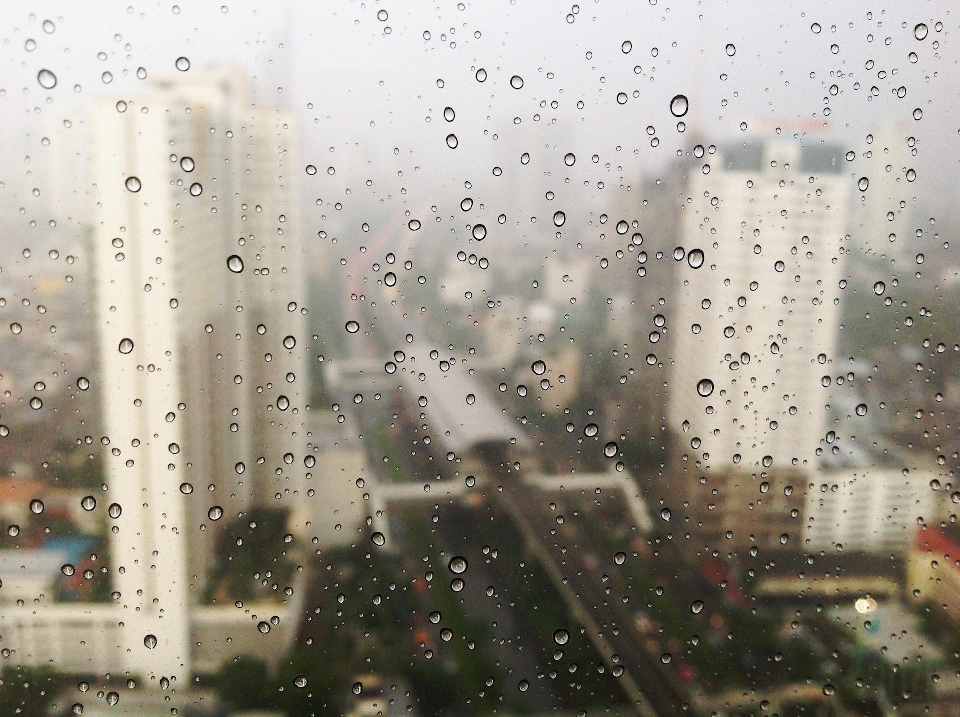 gocce, pioggia, Città, altezze, Visualizzazioni - Sfondi HD - Professor-falken.com