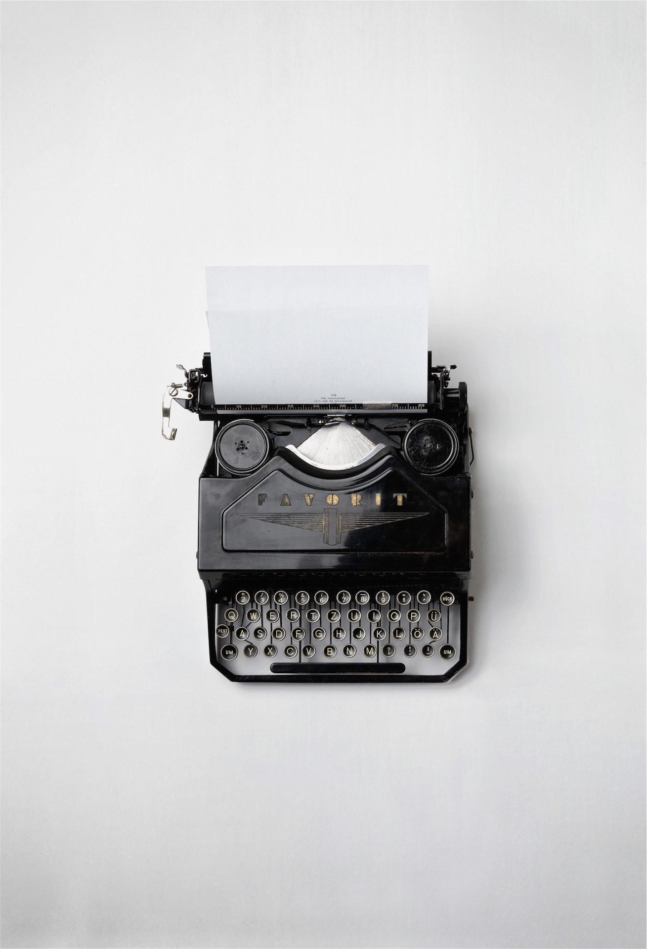 máquina, escribir, minimalista, antigua, vintage - Fondos de Pantalla HD - professor-falken.com