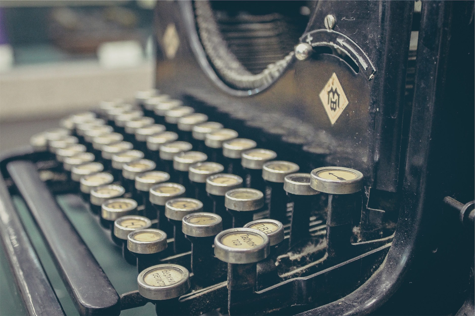 máquina, escribir, teclas, vieja, vintage - Fondos de Pantalla HD - professor-falken.com