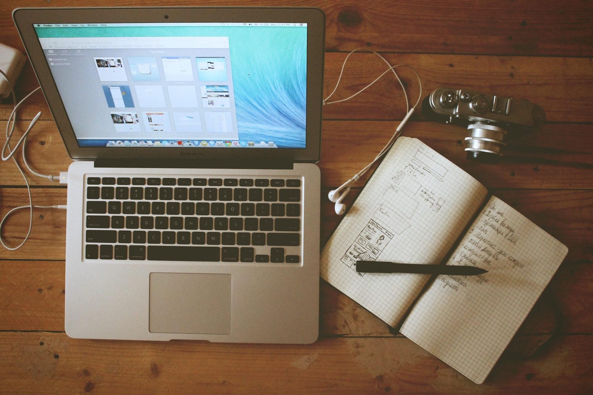 tragbare, Notebook, Schreibtisch, Büro, Kamera - Wallpaper HD - Prof.-falken.com