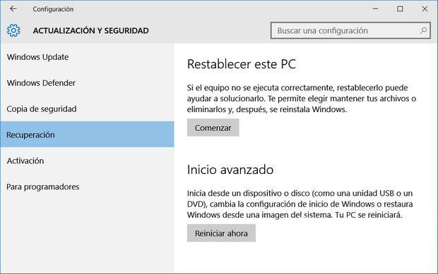 Как сбросить ваш компьютер на фабрику в Windows 10 - Изображение 2 - Профессор falken.com