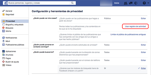 Cómo ver o eliminar todas las búsquedas que has hecho en Facebook - Image 2 - professor-falken.com