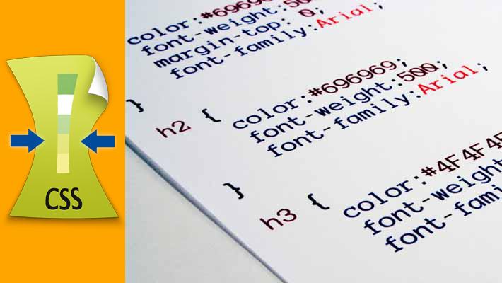 Minimizador o Compresor de CSS – CSS Minifier