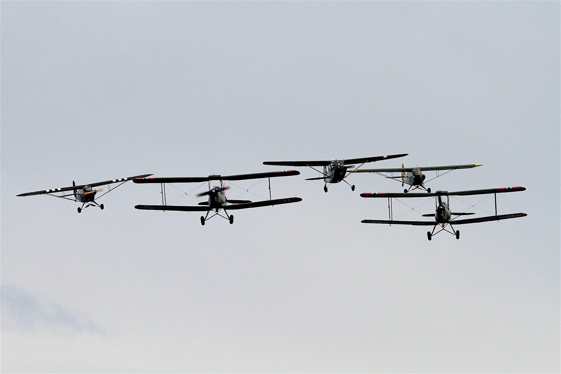 aviones, avionetas, exhibición, formación, combate - Fondos de Pantalla HD - professor-falken.com