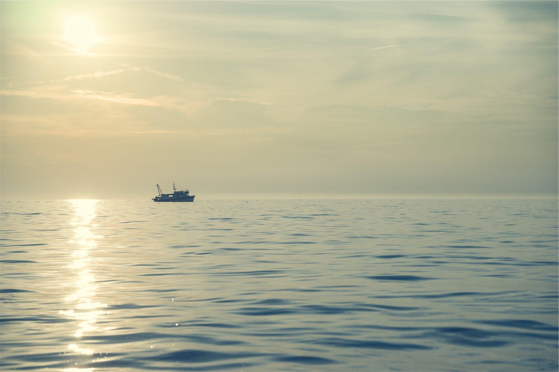 лодка, Рыбалка, Море, Солнце, Соледад, спокойствие, расслабиться - Обои HD - Профессор falken.com