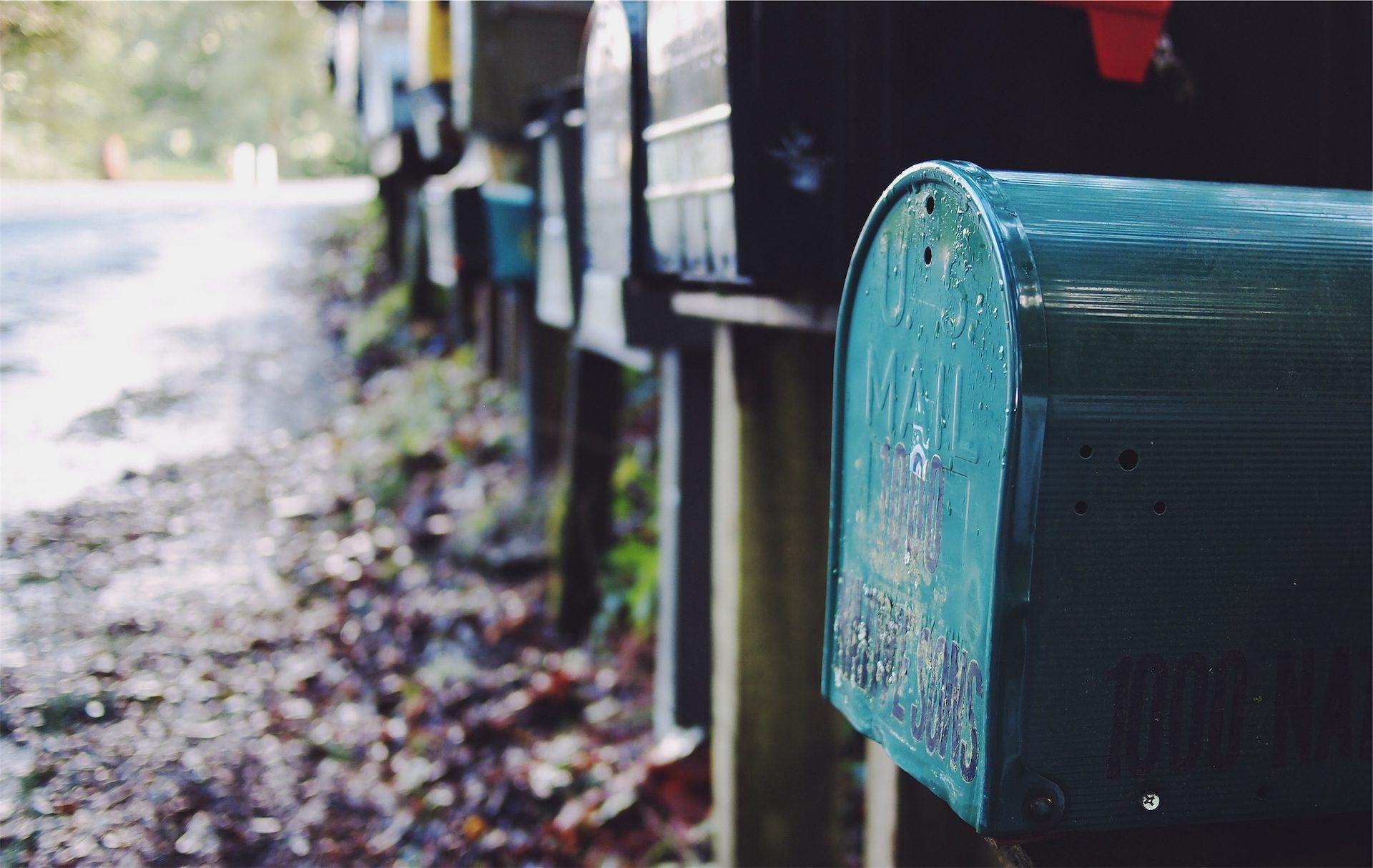 почтовые ящики, соседи, окрестности, Дорога, Вуд - Обои HD - Профессор falken.com