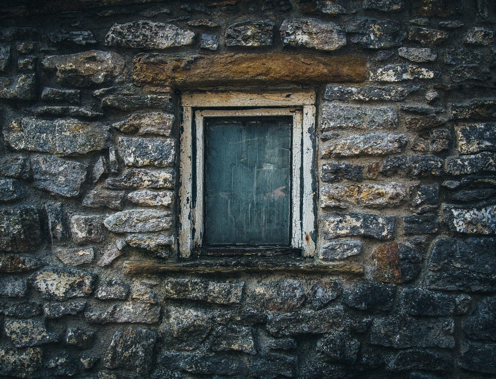 المنزل, نافذة, pared, الجدار, ستون, القديمة - خلفيات عالية الدقة - أستاذ falken.com