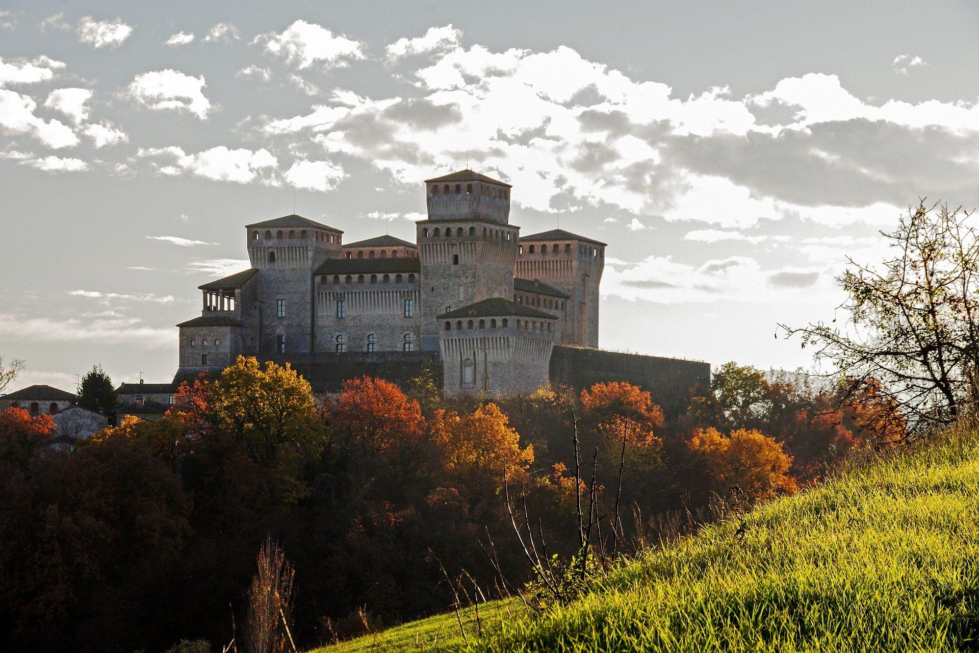 Castelo, Torres, torrar, Langhirano, Parma - Papéis de parede HD - Professor-falken.com