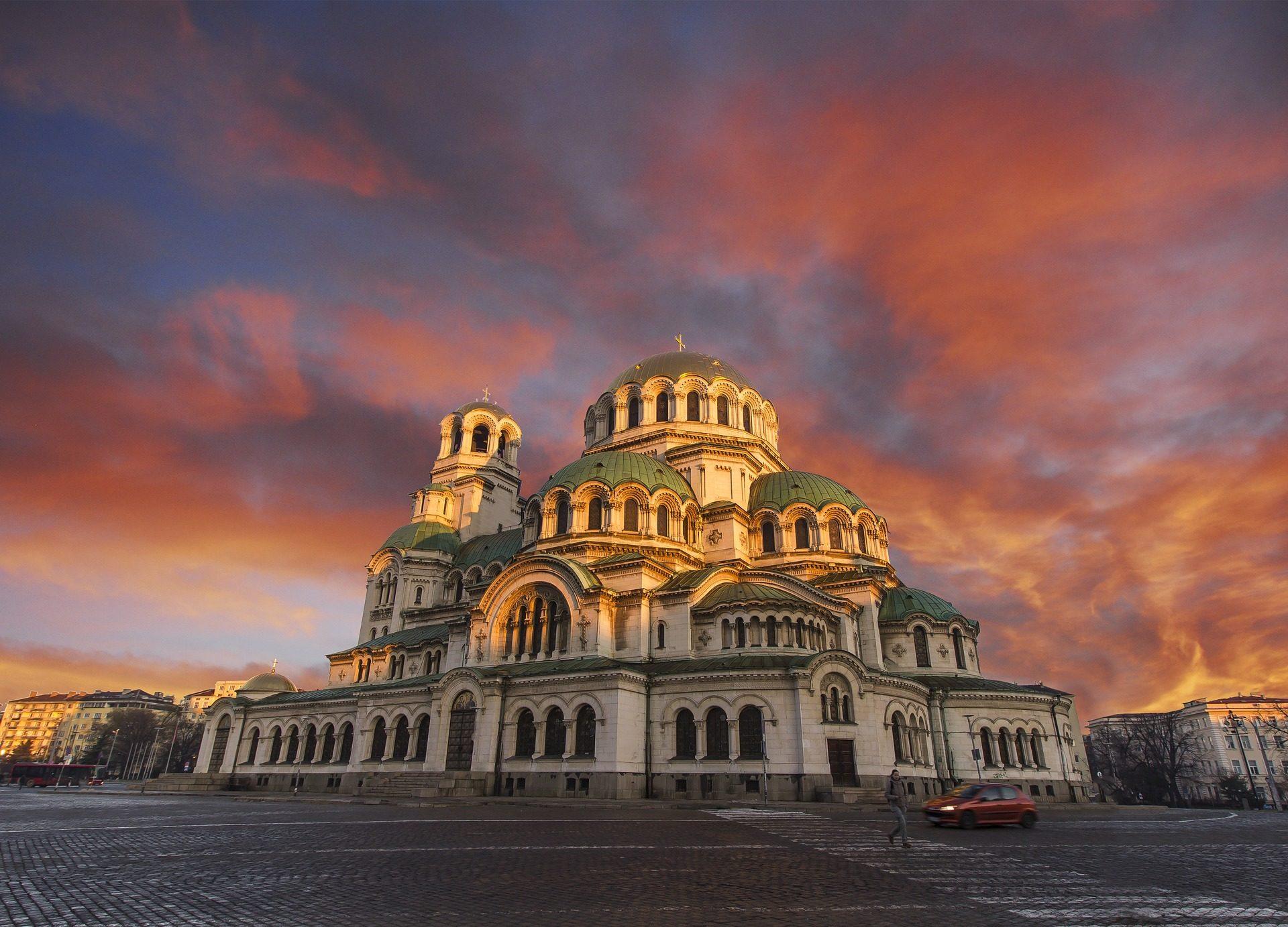 Кафедральный собор, Церковь, Рассвет, свет, стиль, Небо, облака - Обои HD - Профессор falken.com