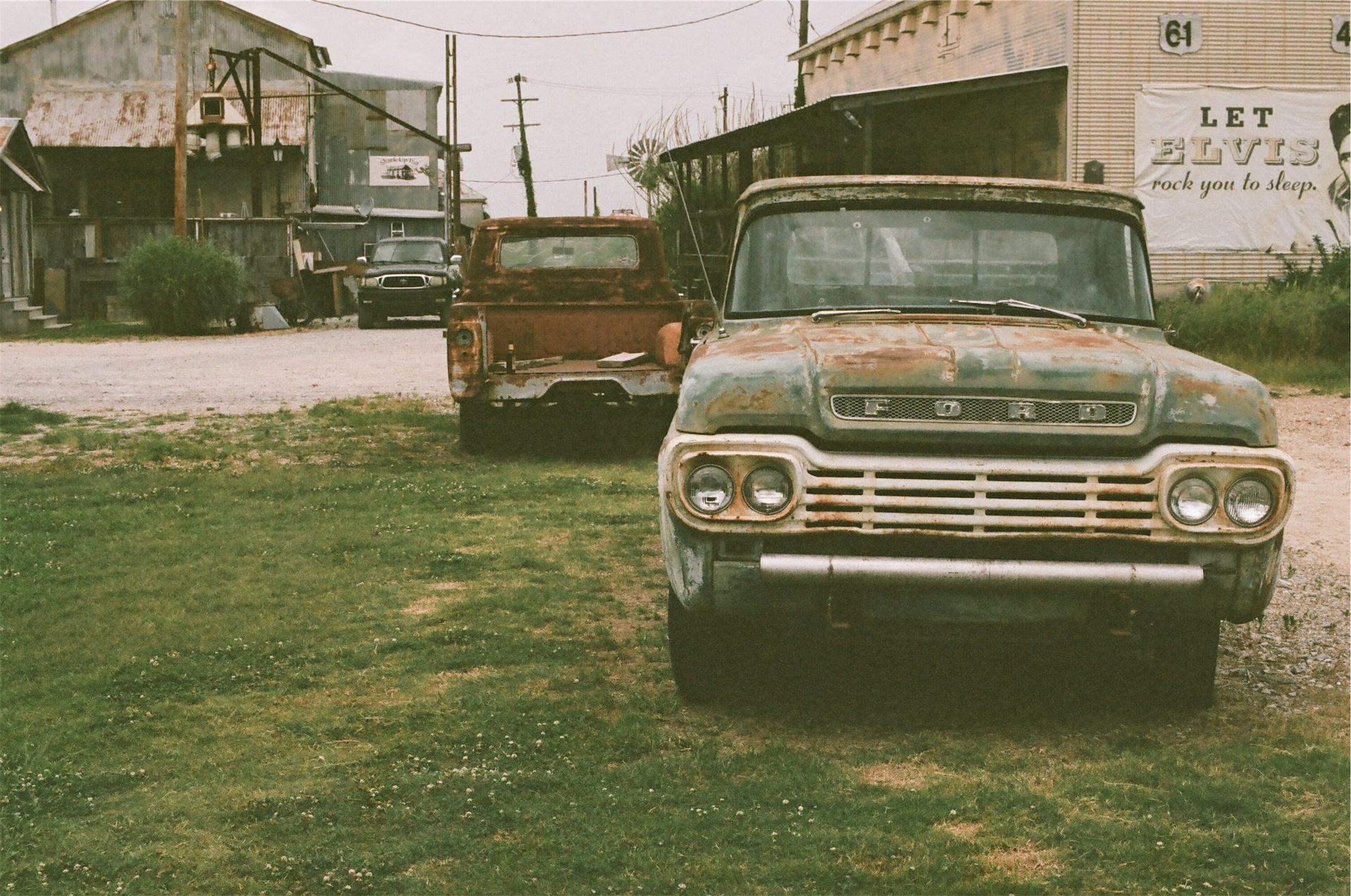 Auto, antiguo, Ford, alt, Rostige - Wallpaper HD - Prof.-falken.com