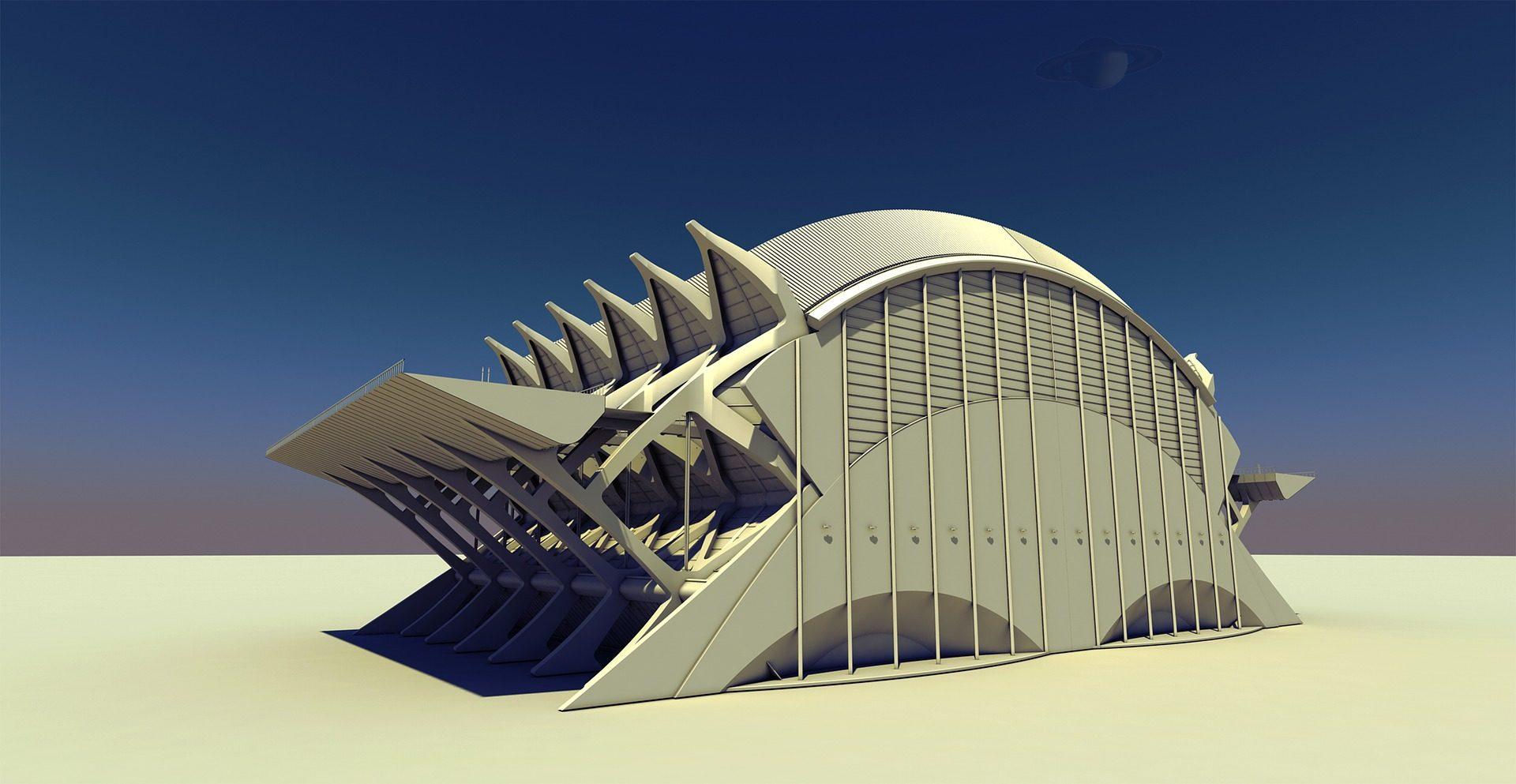 Estádio, maqueta, edifício, arquitetura, modelo, 3D - Papéis de parede HD - Professor-falken.com