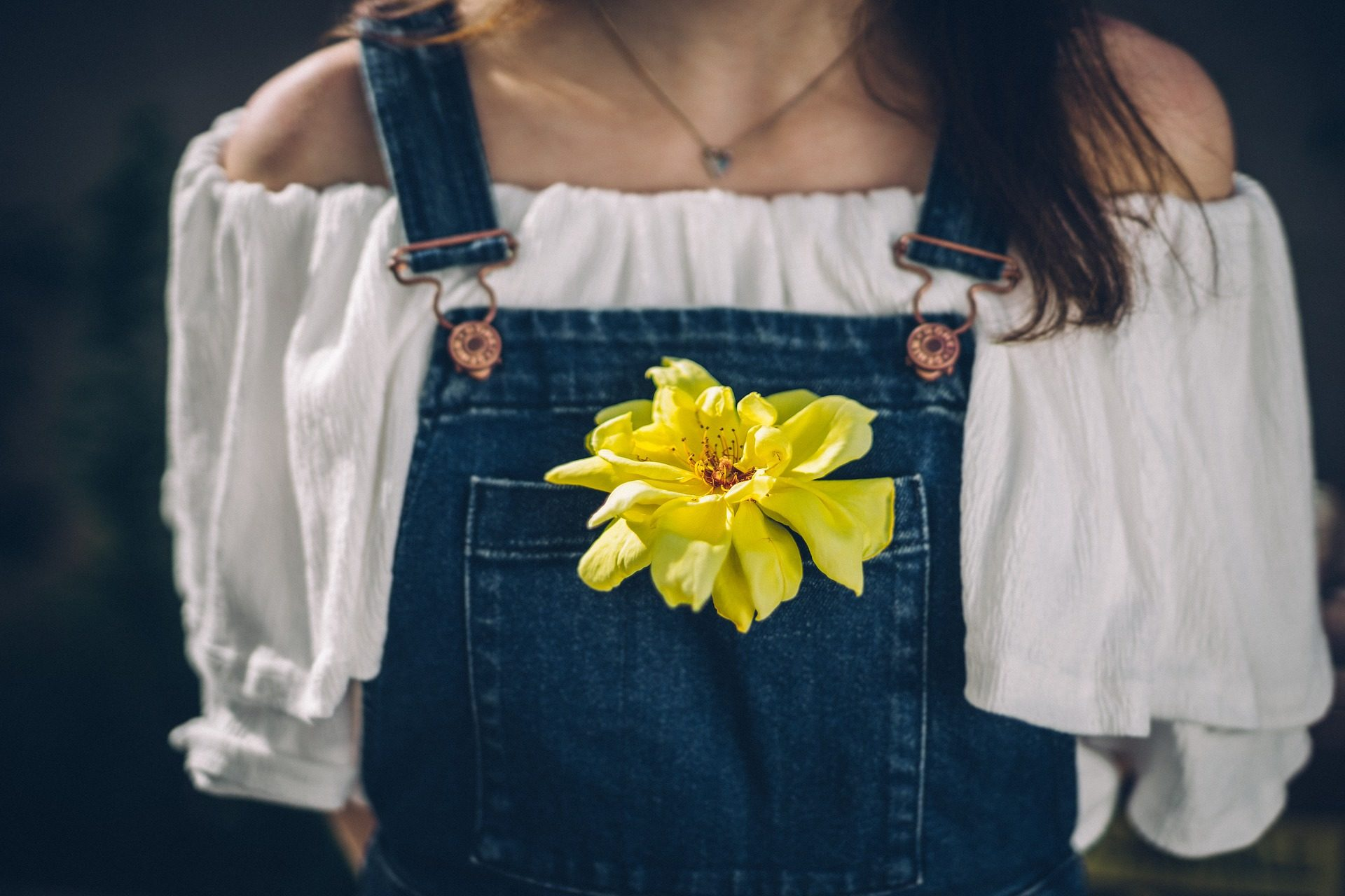 flor, peto, tirantes, mujer, pelo - Fondos de Pantalla HD - professor-falken.com